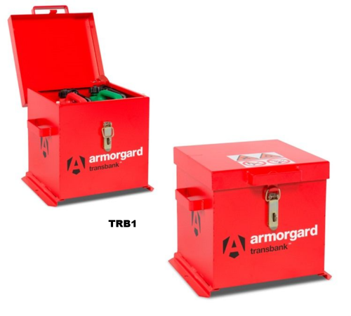 Armorgard Transbank - Lockable Fuel Container